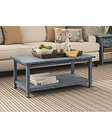 "Country Cottage 42""L Coffee Table"