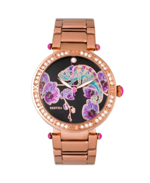 Quartz Camilla Collection Rose Gold Stainless Steel Watch 38Mm