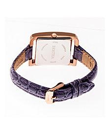Bertha Quartz Marisol Collection Lavender Leather Watch 21Mm