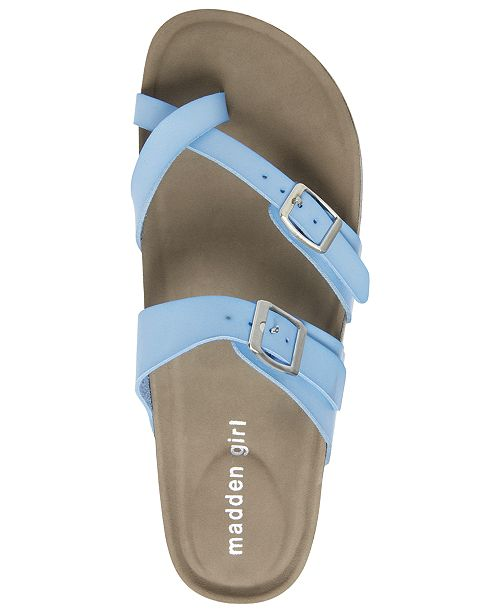 5420a5c129b Madden Girl Bryceee Footbed Sandals   Reviews - Sandals   Flip Flops ...