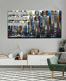 'Big City' Abstract Canvas Wall Art Collection
