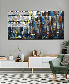 Ready2HangArt 'Big City' Abstract Canvas Wall Art Collection