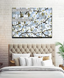 'Dogwood Meadow' Floral Canvas Wall Art Collection