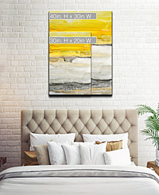 Ready2HangArt 'Latest Sunset I' Abstract Canvas Wall Art Collection
