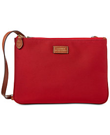 Lauren Ralph Lauren Chadwick Double-Zip Crossbody