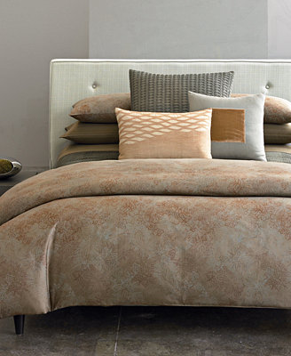 Closeout Calvin Klein Home Oxidized Paisley Bedding