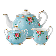 Royal Albert Polka Blue 3 Piece Set