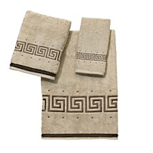 Avanti Pre Athena Embroidered Greek Key Hand Towel