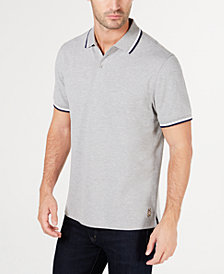 Club Room Men's Regular- Fit Stretch Bulldog Hem-Logo Polo, Created for Macy's