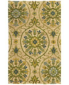 Home  Valencia 57701 Beige/Green Area Rug