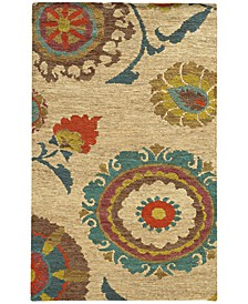 Home  Valencia 57710 Beige/Multi Area Rug
