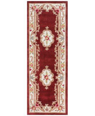 "Dynasty Aubusson 2'6"" x 8' Runner Rug, Created for Macy's"