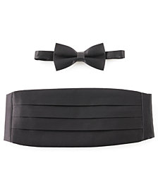 Michelsons of London Bow Tie & Cummerbund Set