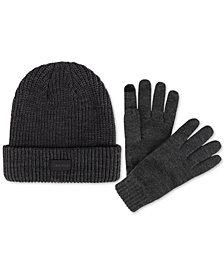Calvin Klein Men's Hat & Glove Set, Created for Macy's