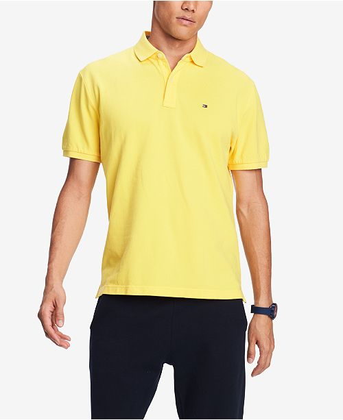 Tommy Hilfiger Men s Classic-Fit Ivy Polo - Polos - Men - Macy s c5e54f71d4