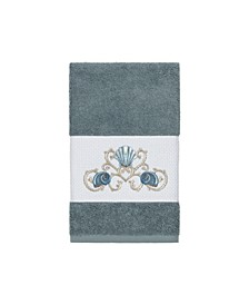 Bella Embroidered Turkish Cotton Hand Towel