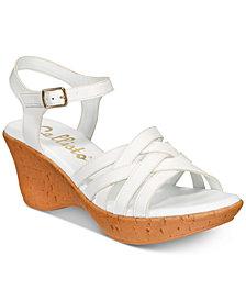 Callisto Crosswalk Platform Wedge Sandals, Created for Macy's