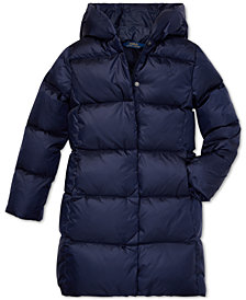 Polo Ralph Lauren Big Girls Hooded Down Jacket