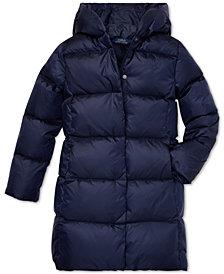 Polo Ralph Lauren Big Girls Hooded Down Jacket