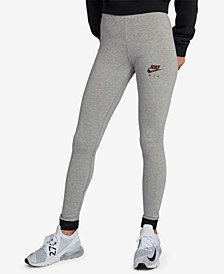 Nike Sportswear Metallic-Logo Leggings