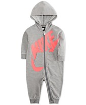 96482a53b3 Nike Baby Boys and Girls Play All Day Hooded Coverall