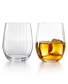 Riedel Optical O Whiskey Glasses, Set of 2