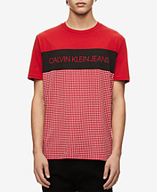 Calvin Klein Jeans Men's Colorblocked Camo T-Shirt