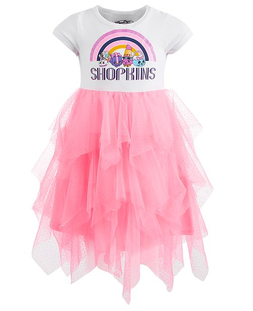14833c0619f Shopkins Little Girls Layered-Look Tutu Dress   Reviews - Dresses ...
