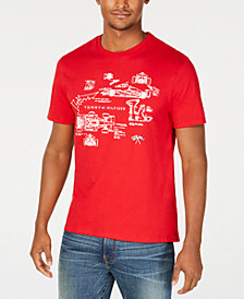 Tommy Hilfiger Men's Race Scheme Graphic T-Shirt