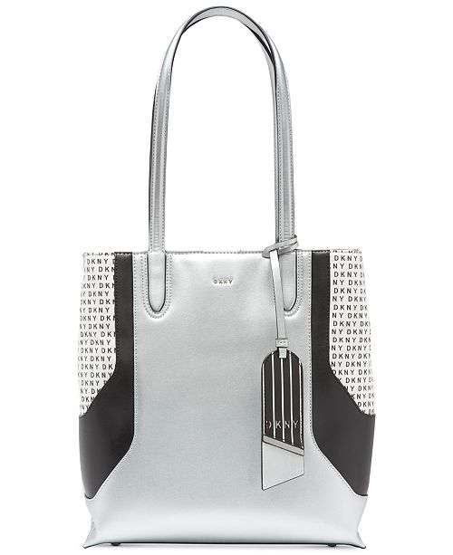 DKNY Jade Tall Signature Tote, Created for Macy's