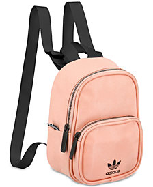 adidas Originals Faux-Leather Mini-Backpack