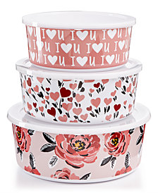 Martha Stewart Collection 3-Pc. Nesting Container Set, Created for Macy's