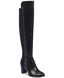 Marc Fisher Lapture Studded Over-The-Knee Boots