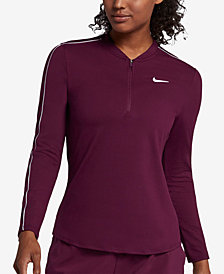Nike Court Dry Half-Zip Tennis Top