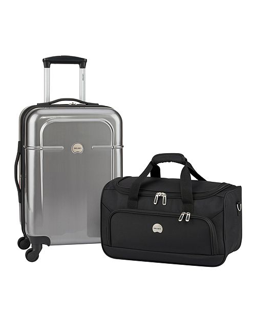 Delsey CLOSEOUT! Air Quest Carry-On Spinner with Bonus Duffel, Created for Macy's