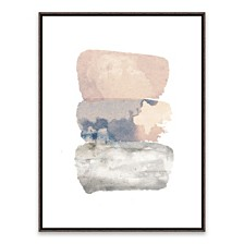 Watercolor VII Framed Printed Canvas