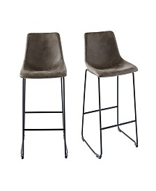 Collins Metal Bar Stool Set