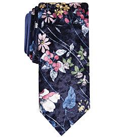 Tallia Men's Olson Slim Floral Tie