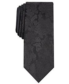 Tallia Men's Alcott Slim Paisley Tie