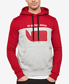 G-Star RAW Men's Colorblocked Logo Hoodie