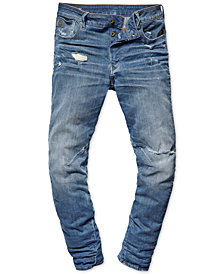 G-Star RAW Men's Arc 3D Relaxed Tapered Jeans, Created for Macy's