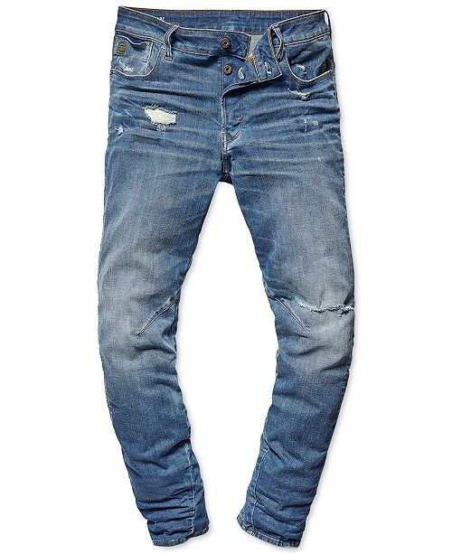caf71464741 G-Star Raw Men's Arc 3D Relaxed Tapered Jeans, Created for Macy's ...