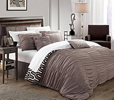 Chic Home Elissa 7-Pc. Reversible Duvet Covers