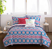 Chic Home Tristan 7 Pc Twin Quilt Set