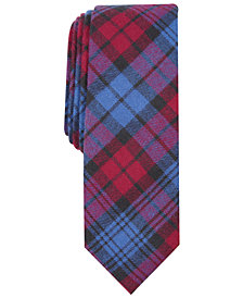 Penguin Men's Shields Skinny Plaid Tie