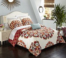 Maxim 8 Pc King  Duvet Set