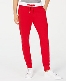 Calvin Klein Jeans Men's Monogram Fleece Pants Created for Macy's