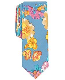Penguin Men's Dayton Skinny Floral Tie