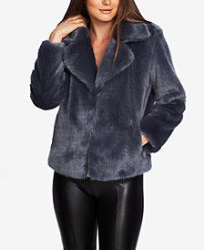 1.STATE Faux-Mink Coat