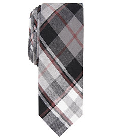 Penguin Men's Barto Skinny Plaid Tie